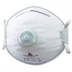 Boîte de 10 masques à poussière jetables FFP1 avec soupape - Kadro