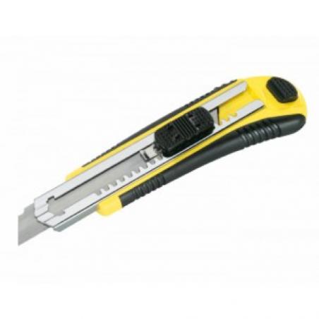 Cutter plastique avec changement automatique de lames 18 mm - Kadro